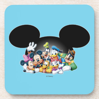 Mickey & Friends | Group in Mickey Ears Coaster