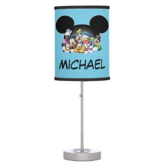 Mickey & Friends | Group in Mickey Ears Desk Lamp