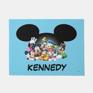 Mickey & Friends | Group in Mickey Ears Doormat