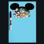 "Mickey &amp; Friends | Group in Mickey Ears Dry-Erase Board<br><div class=""desc"">Multiple Characters</div>"