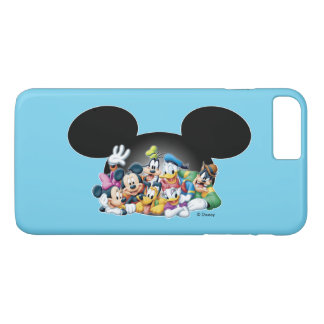 Mickey & Friends | Group in Mickey Ears iPhone 8 Plus/7 Plus Case