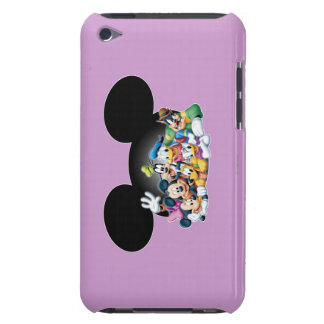Mickey & Friends | Group in Mickey Ears iPod Case-Mate Case