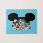 Mickey &amp; Friends | Group in Mickey Ears Jigsaw Puzzle<br><div class='desc'>Multiple Characters</div>