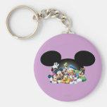 Mickey & Friends | Group in Mickey Ears Keychain