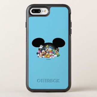Mickey & Friends | Group in Mickey Ears OtterBox Symmetry iPhone 8 Plus/7 Plus Case