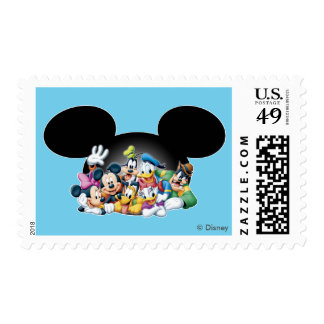 Mickey & Friends | Group in Mickey Ears Postage