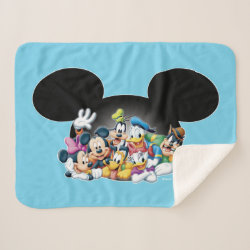 Sherpa Blanket with Pluto design