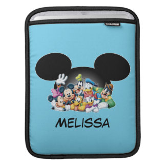 Mickey & Friends | Group in Mickey Ears Sleeve For iPads