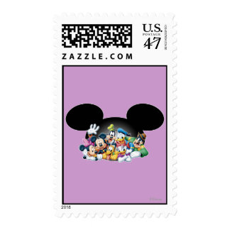 Mickey & Friends | Group in Mickey Ears Stamp
