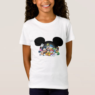 Mickey & Friends | Group in Mickey Ears T-Shirt