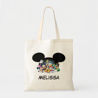 Mickey & Friends | Group in Mickey Ears Tote Bag