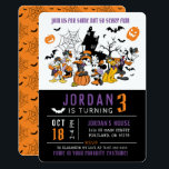 "Mickey & Friends Halloween Birthday Invitation<br><div class=""desc"">Invite all your family and friends to your child's Mickey and Friends Halloween themed Birthday Party with these fun birthday invitations.</div>"