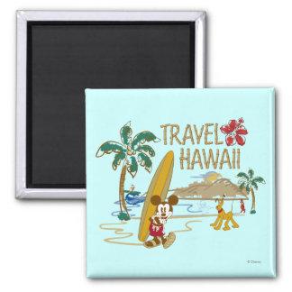 Mickey & Friends   Hawaii Magnet