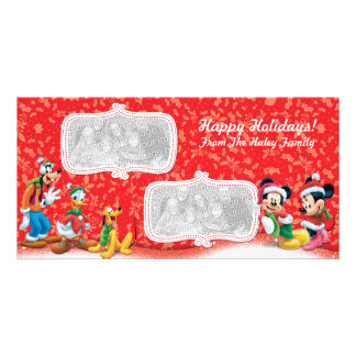 Mickey & Friends Holiday Photo Card
