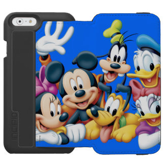 Mickey & Friends | Kneeling iPhone 6/6s Wallet Case