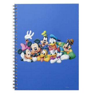 Mickey & Friends | Kneeling Notebook