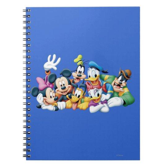 Mickey & Friends   Kneeling Notebook