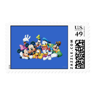 Mickey & Friends | Kneeling Postage