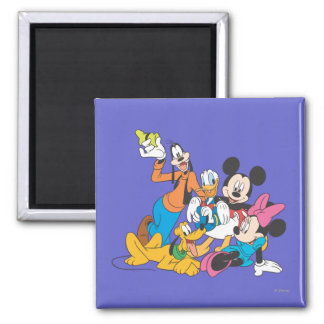 Mickey & Friends | Leaning Magnet