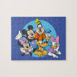 Mickey & Friends Lounging Together Jigsaw Puzzle