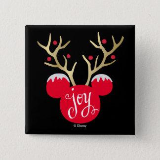 Mickey & Friends | Mickey Christmas Joy Pinback Button