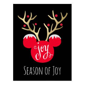 Mickey & Friends | Mickey Christmas Joy Postcard