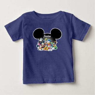 Mickey & Friends | Mickey Ears - Add Your Name Baby T-Shirt