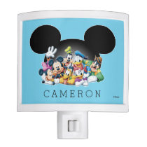 Mickey & Friends | Mickey Ears - Add Your Name Night Light