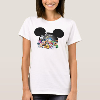 Mickey & Friends | Mickey Ears - Add Your Name T-Shirt