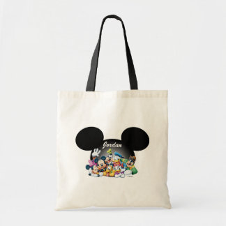 Mickey & Friends   Mickey Ears - Add Your Name Tote Bag
