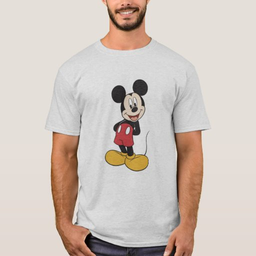 mickey friends mickey mouse t shirt zazzle. Black Bedroom Furniture Sets. Home Design Ideas
