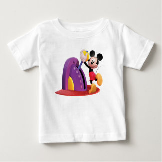 Mickey & Friends Mickey pulling lever Shirts