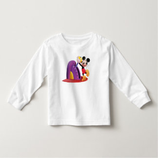 Mickey & Friends Mickey pulling lever T-shirt