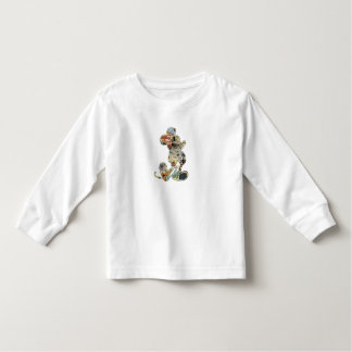 Mickey & Friends Mickey sketch comic composite  Toddler T-shirt