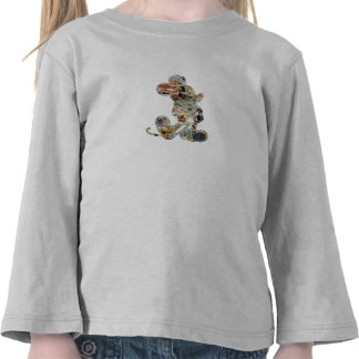 Mickey & Friends Mickey sketch comic composite  T-shirts