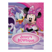 Mickey & Friends | Minnie Customizable Poster