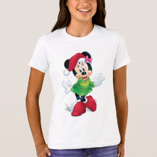 Mickey & Friends | Minnie Dressed For Christmas T-Shirt