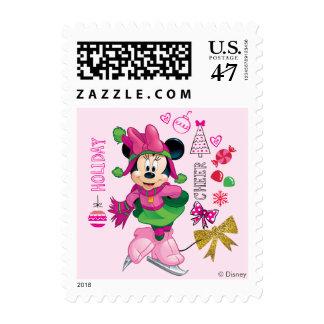 Mickey & Friends | Minnie Holiday Cheer Postage