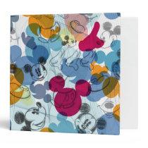 Mickey & Friends | Mouse Head Sketch Pattern Binder