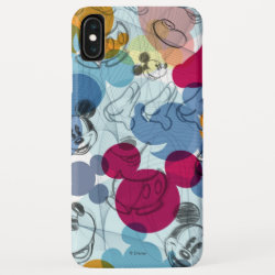Case-Mate Barely There Apple iPhone XS Max Case with Mickey Mouse Patterns design