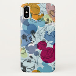 Mickey Mouse Patterns Case-Mate Barely There iPhone X Case