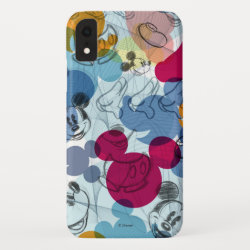 Case-Mate Barely There Apple iPhone XR Case with Mickey Mouse Patterns design
