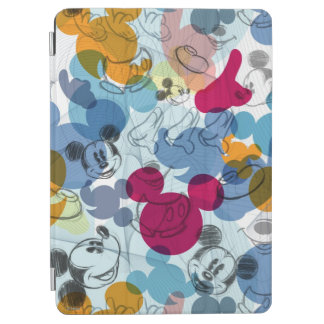 Mickey & Friends | Mouse Head Sketch Pattern iPad Air Cover