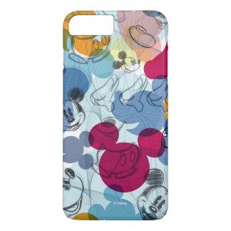 Mickey & Friends | Mouse Head Sketch Pattern iPhone 8 Plus/7 Plus Case