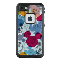 LifeProof® FRĒ® for iPhone® 5/5S/SE Case with Mickey Mouse Patterns design