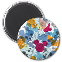 Mickey & Friends | Mouse Head Sketch Pattern Magnet