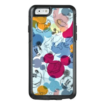 Mickey & Friends | Mouse Head Sketch Pattern Otterbox Iphone 6/6s Case by disney at Zazzle