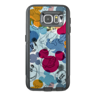 Mickey & Friends | Mouse Head Sketch Pattern OtterBox Samsung Galaxy S6 Case