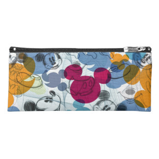 Mickey & Friends | Mouse Head Sketch Pattern Pencil Case