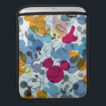 "Mickey &amp; Friends | Mouse Head Sketch Pattern Sleeve For iPads<br><div class=""desc"">Mickey Mouse</div>"